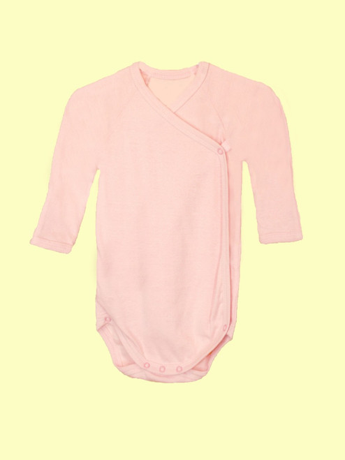 Girl Long Sleeve Babybody - Organic Cotton
