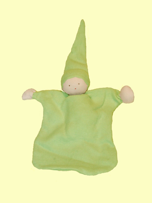 Sleeping Doll in Sage - 100% Certified Organic Cotton
