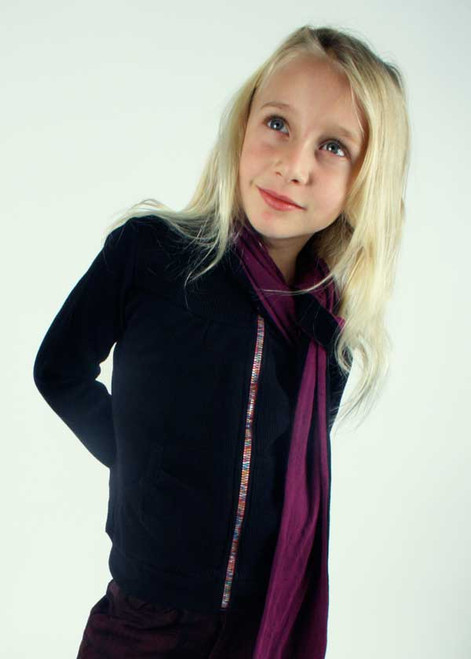 Black Variola Jacket - Organic Cotton