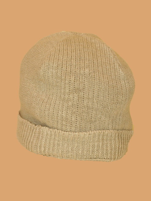 Natural Beanie Hat - Hemp/ Flax