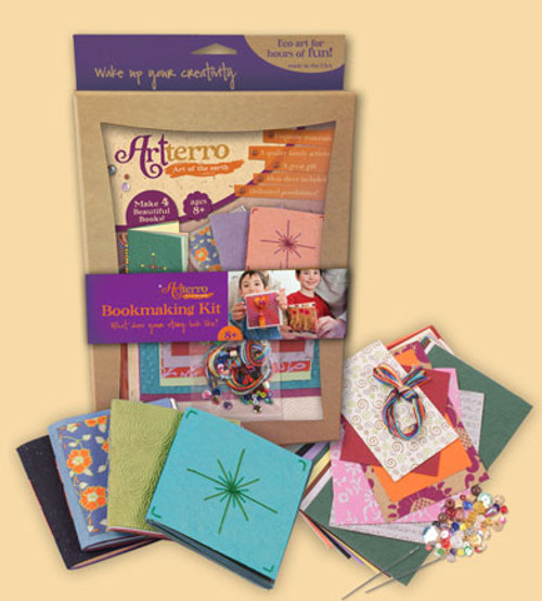 Bookmaking Kit  - Recycled Materials
