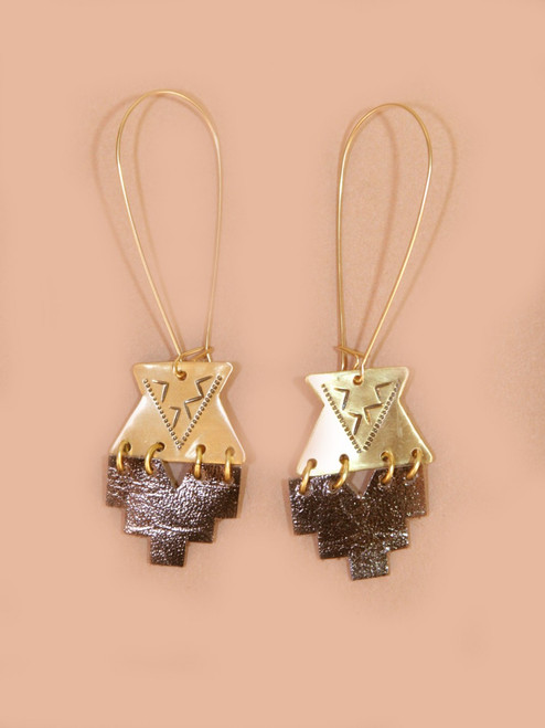 My Kin Earrings - Recycled Materials