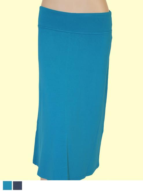 Sleek Skirt  - Bamboo Viscose