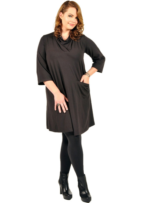 I Want It Longer Tunic Dress - Bamboo Viscose