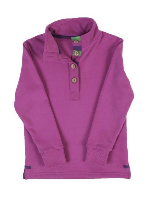 Chunky Button Sweatshirt - Organic Cotton