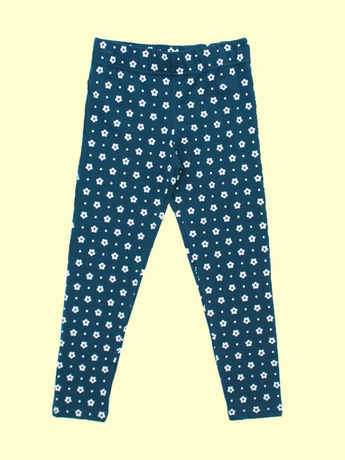 Flower Print Legging - Organic Cotton