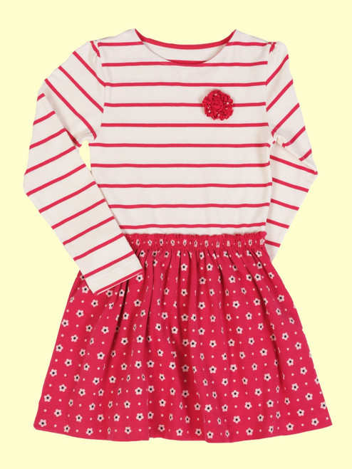 Twirly Cherry Dress - Organic Cotton