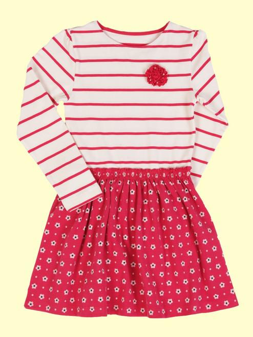 Twirly Cherry Dress - Organic Cotton