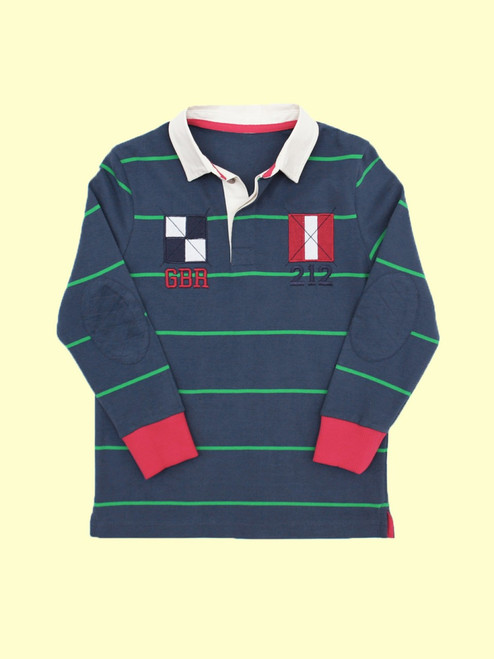 Nautical Rugby Shirt - Organic Cotton
