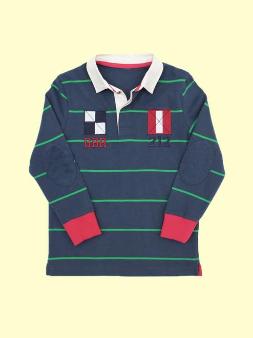 Nautical Rugby Shirt - Organic Cotton