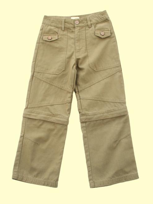 Zip Off Leg Trouser - Organic Cotton
