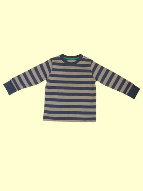 Narrow Striped Shirt - Organic Cotton