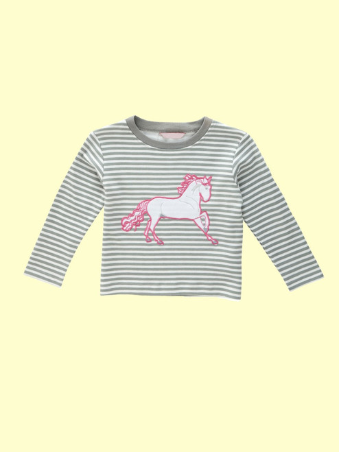 Wild Horse Long Sleeve Tee - Organic Cotton