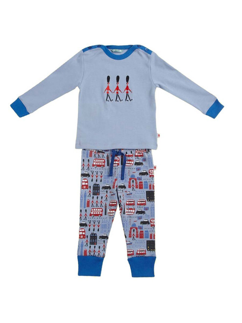 Embroidered Parade  PJ's . Organic Cotton - Fair Trade