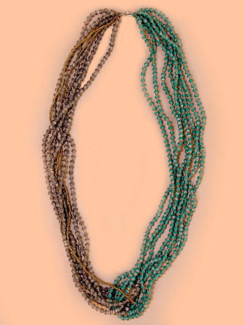 Mulberry Necklace - Recycled Materials