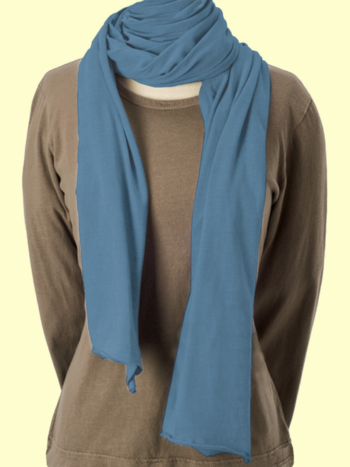 Blizzard Scarf - Organic Cotton Jersey