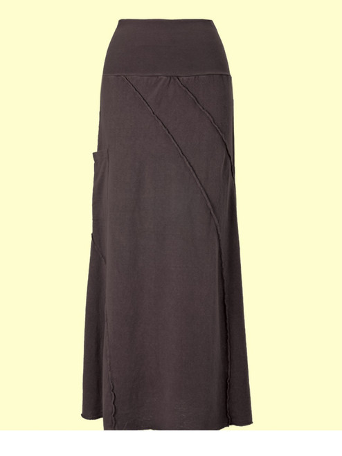 Reversed Villa Skirt - Hemp & Organic Cotton Jersey