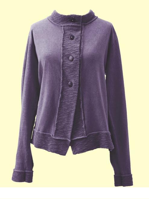 Nirvana Jacket -  Bamboo Rayon & Organic Cotton Jersey