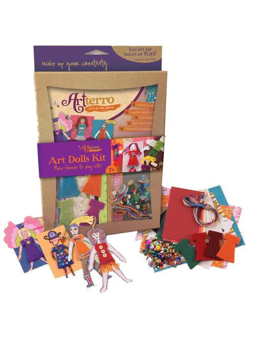 Art Dolls Kits - Recycled Materials