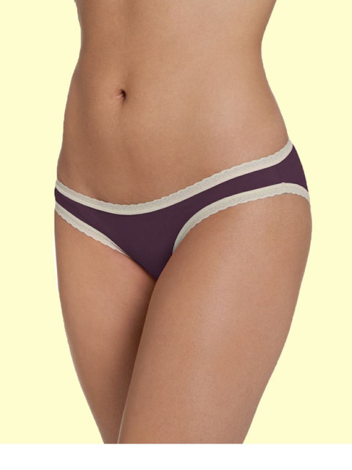 Bikini with Lace Trim -  Organic Cotton