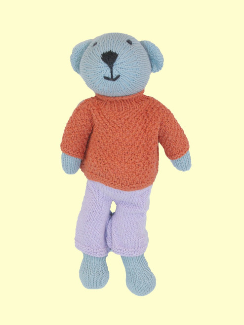 Austin Bear - Hand Knit Organic Cotton