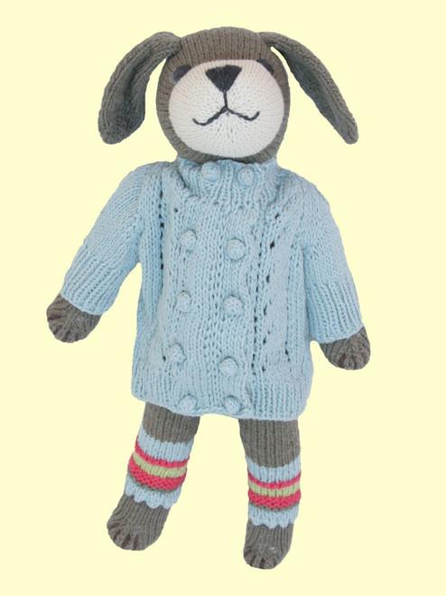 Liam Dog - Hand Knit Organic Cotton