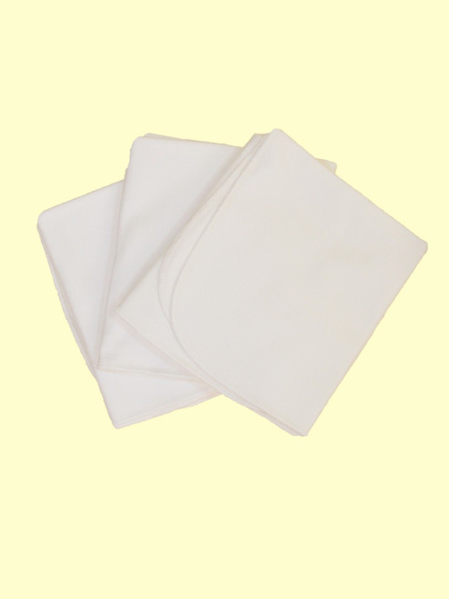 Burp Cloths - 4 pack - Organic Cotton