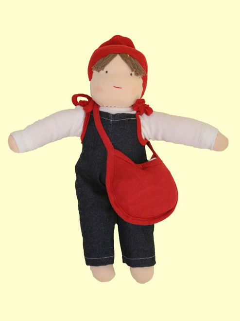 Organic Jill w/Purse & Clothes - Organic Cotton