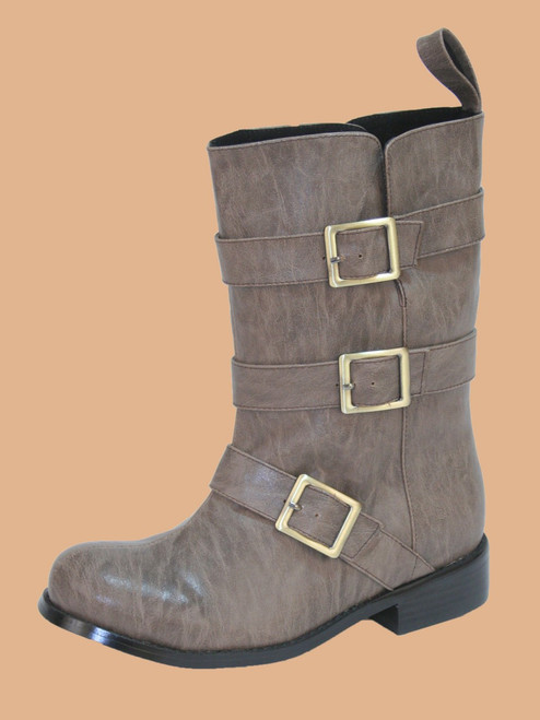 Rogue Moto Boot  - Vegan-Eco-friendly PU