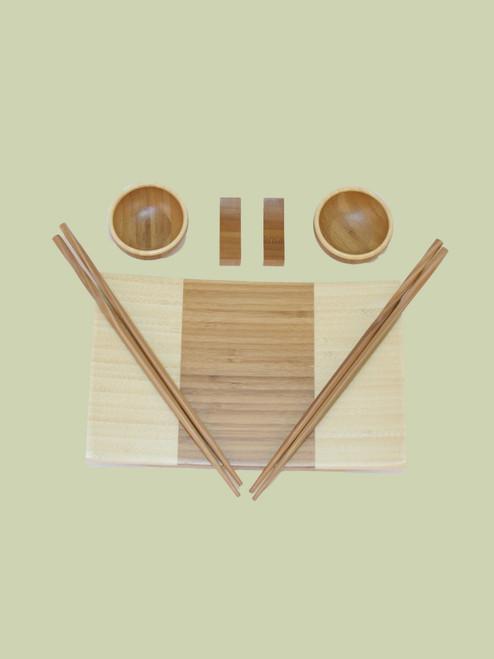 Sushi Gift Set - Bamboo
