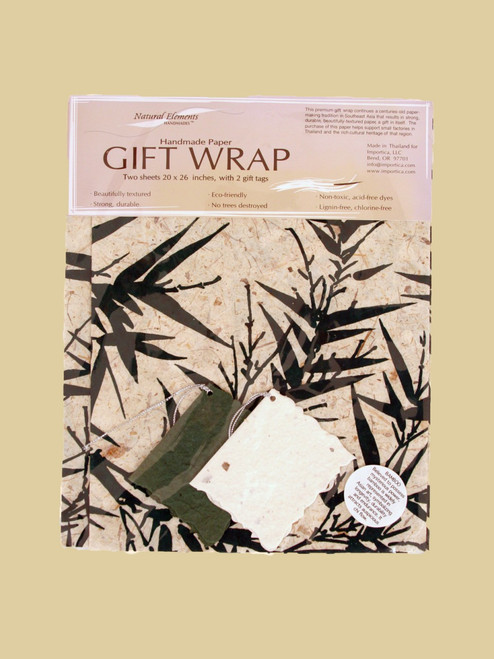 Bamboo Wrapping Paper - Eco-Friendly
