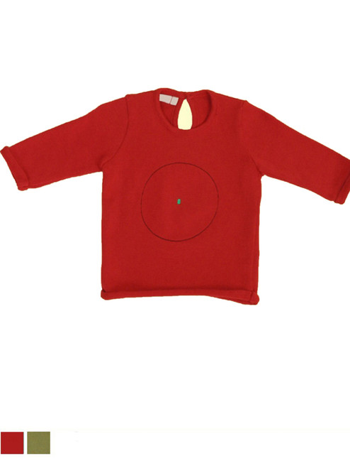 Organic Cotton Baby Sweater - Fair Trade