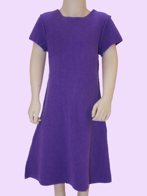 Cap Sleeve Dress - Organic Sherpa