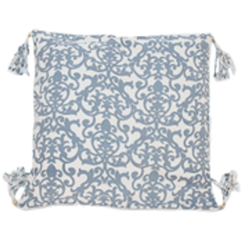Organic Ibiza Indigo Big Cushion - Fair Trade