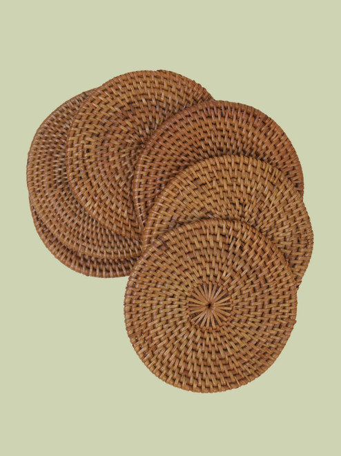 Atta Grass Coasters - Set of 6