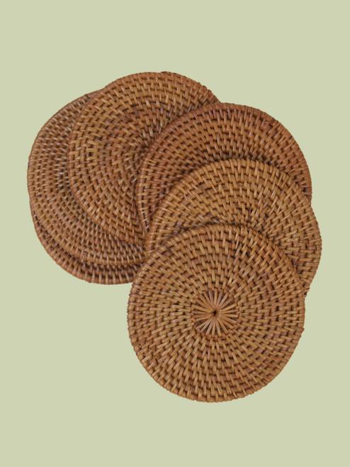 Atta Grass Coasters - Set of 6