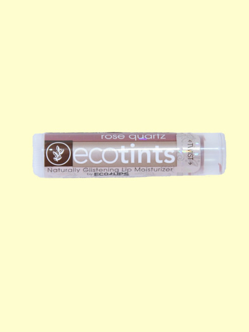 Rose Quartz Eco-Tints Lip Balm - Certified Organic Ingredients