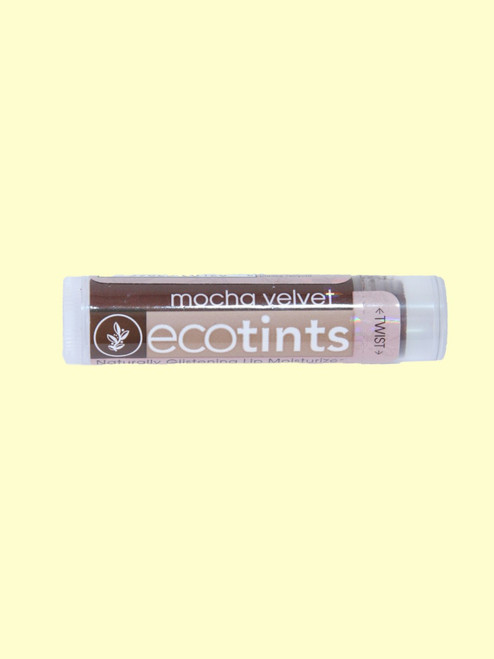 Mocha Velvet Eco-Tints Lip Balm -Certified Organic Ingredients