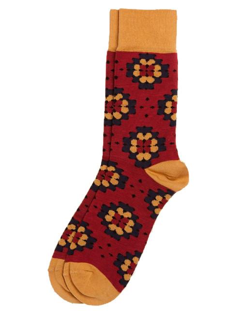Men's Crew Sock Crochet Pattern - Organic Cotton
