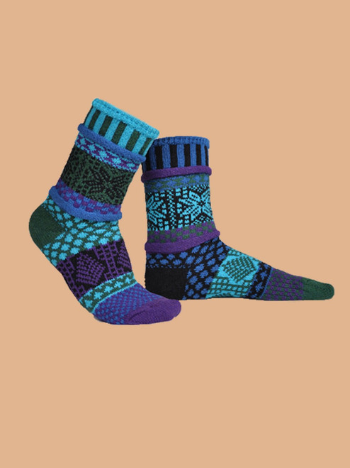 Blue Spruce Socks - Recycled Cotton