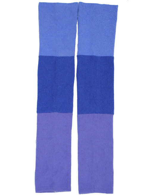Gisselle Legwarmer  Lavender Fields - Recycled Material