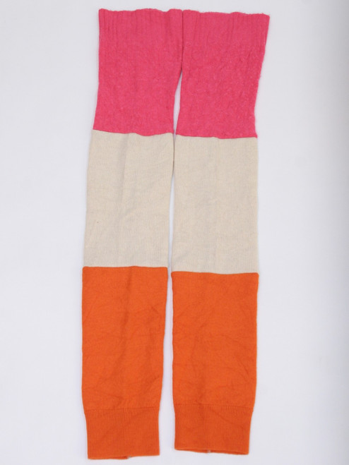 Gisselle Legwarmer  Candy Stripe - Recycled Material