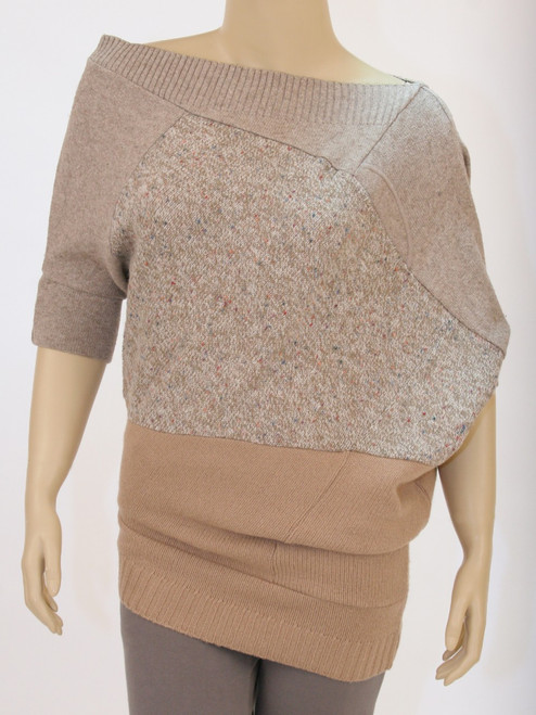 Jo Sweater Cappuccino - Recycled Material