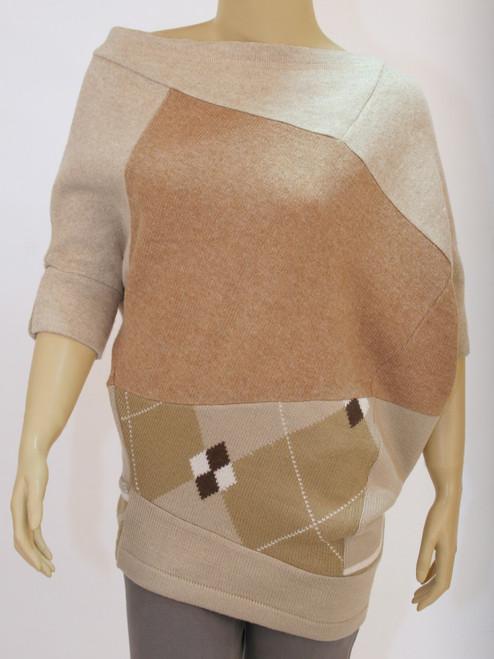 Jo Sweater Gobi Dessert - Recycled Material