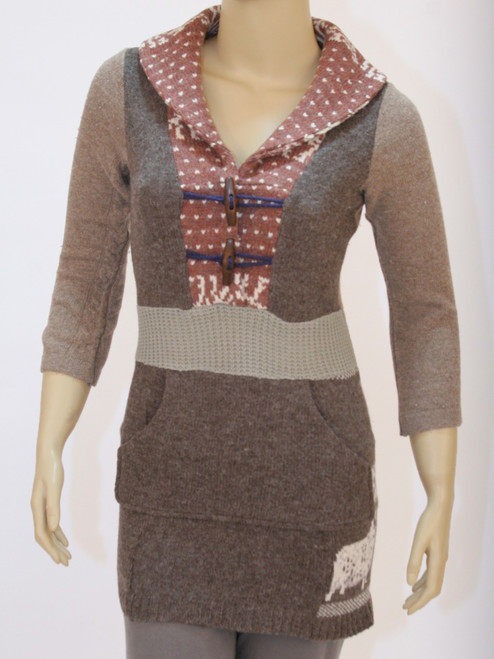 Noely Sweater Shepherds Flock - Recycled Material