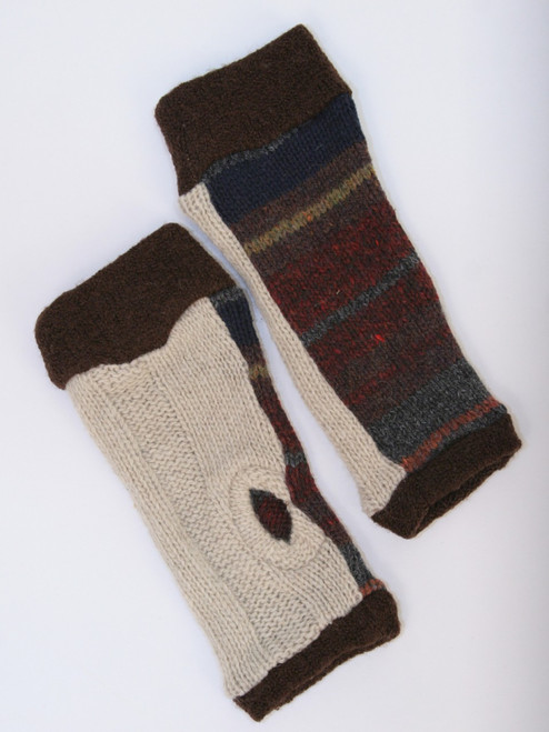 November Mitts Andes Mountains - Recycled Material