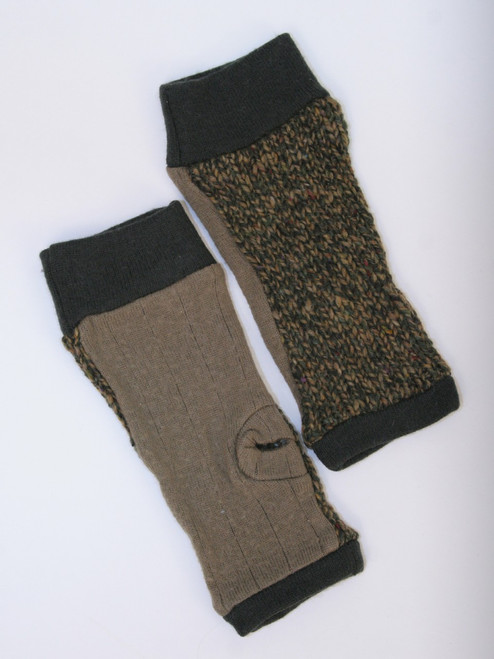 November Mitts Autumn Tweed - Recycled Material