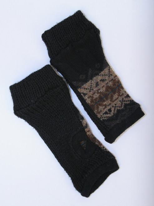 November Mitts Stormy Weather - Recycled Material