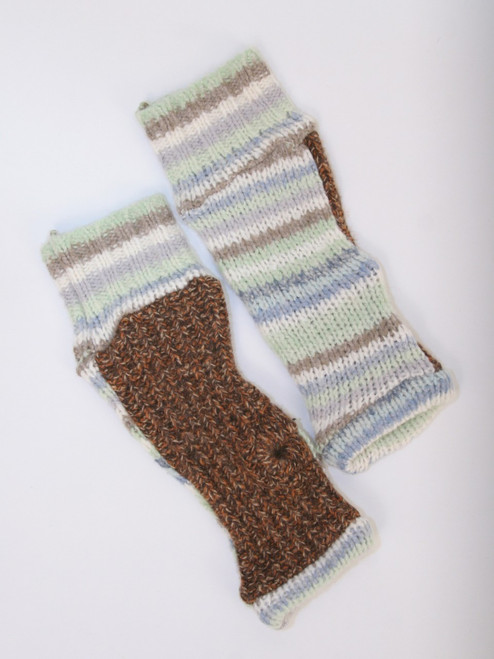 November Mitts Mint Chocolate - Recycled Material