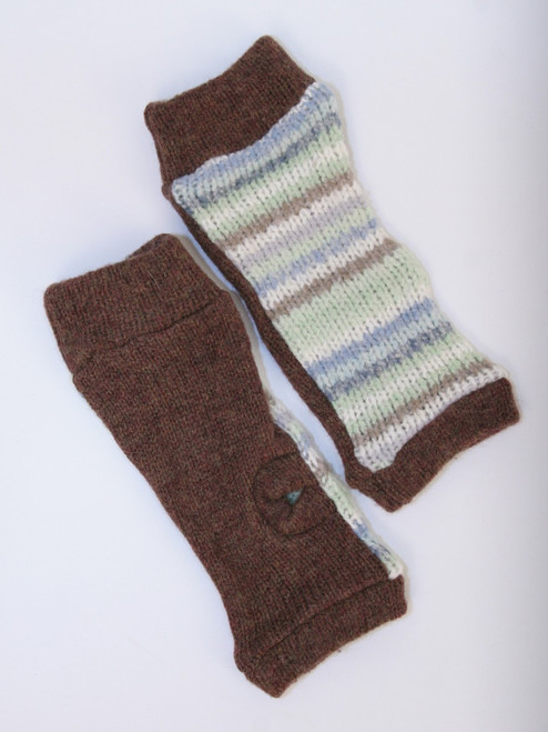 November Mitts Spearmint - Recycled Material